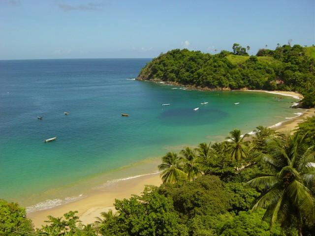 Strand auf Tobago